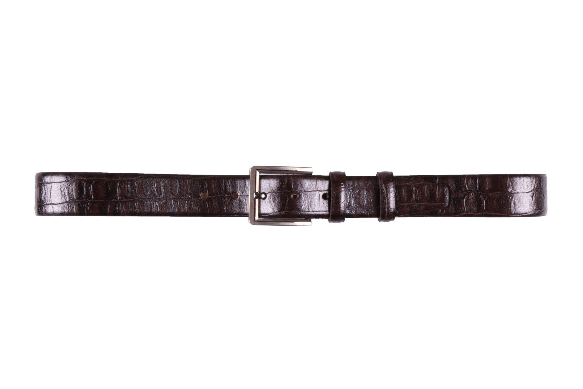 Мужской кожаный ремень  (Арт. REM-31)