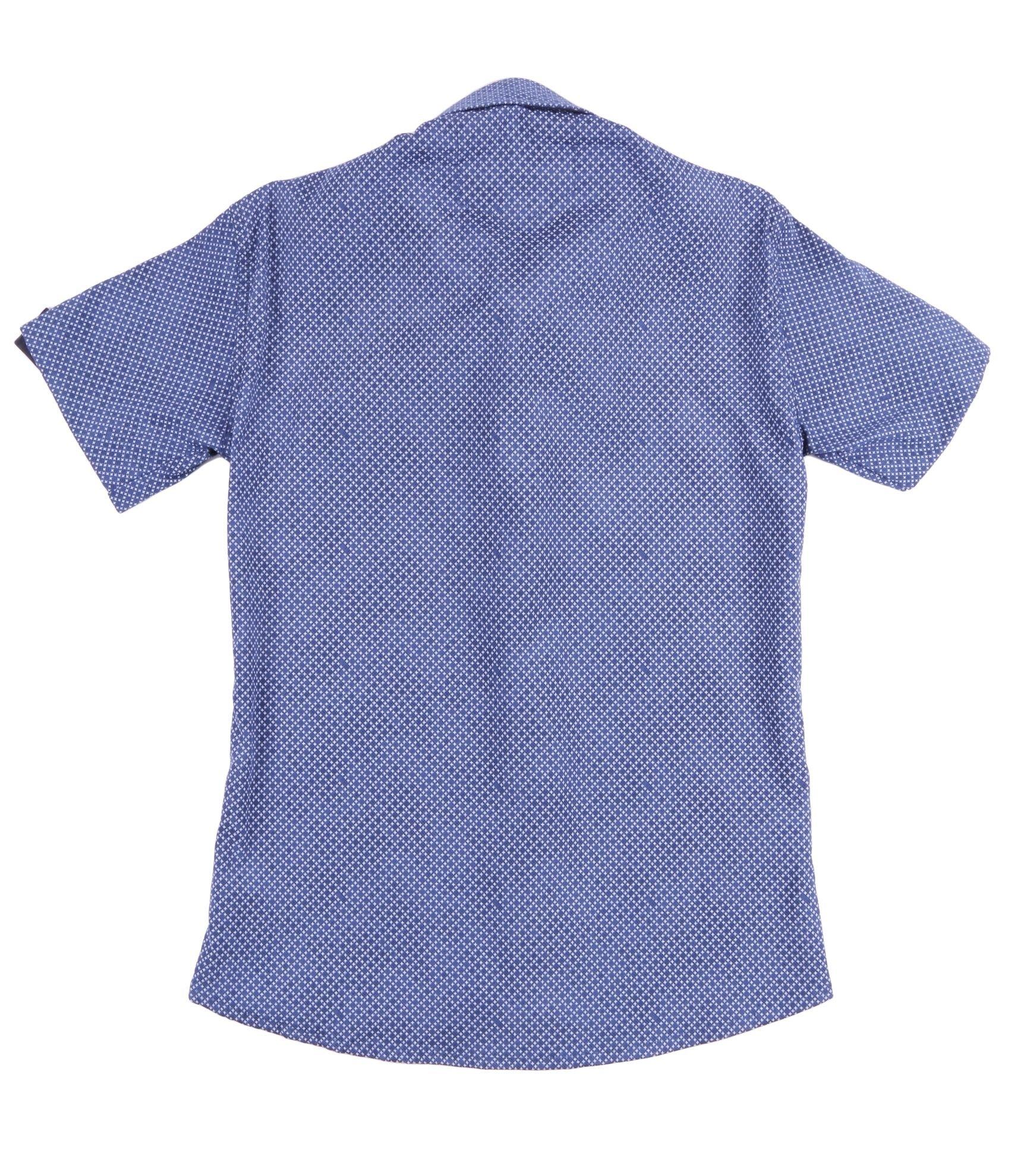 Детская рубашка с коротким рукавом (Арт. ТВ 2232К)