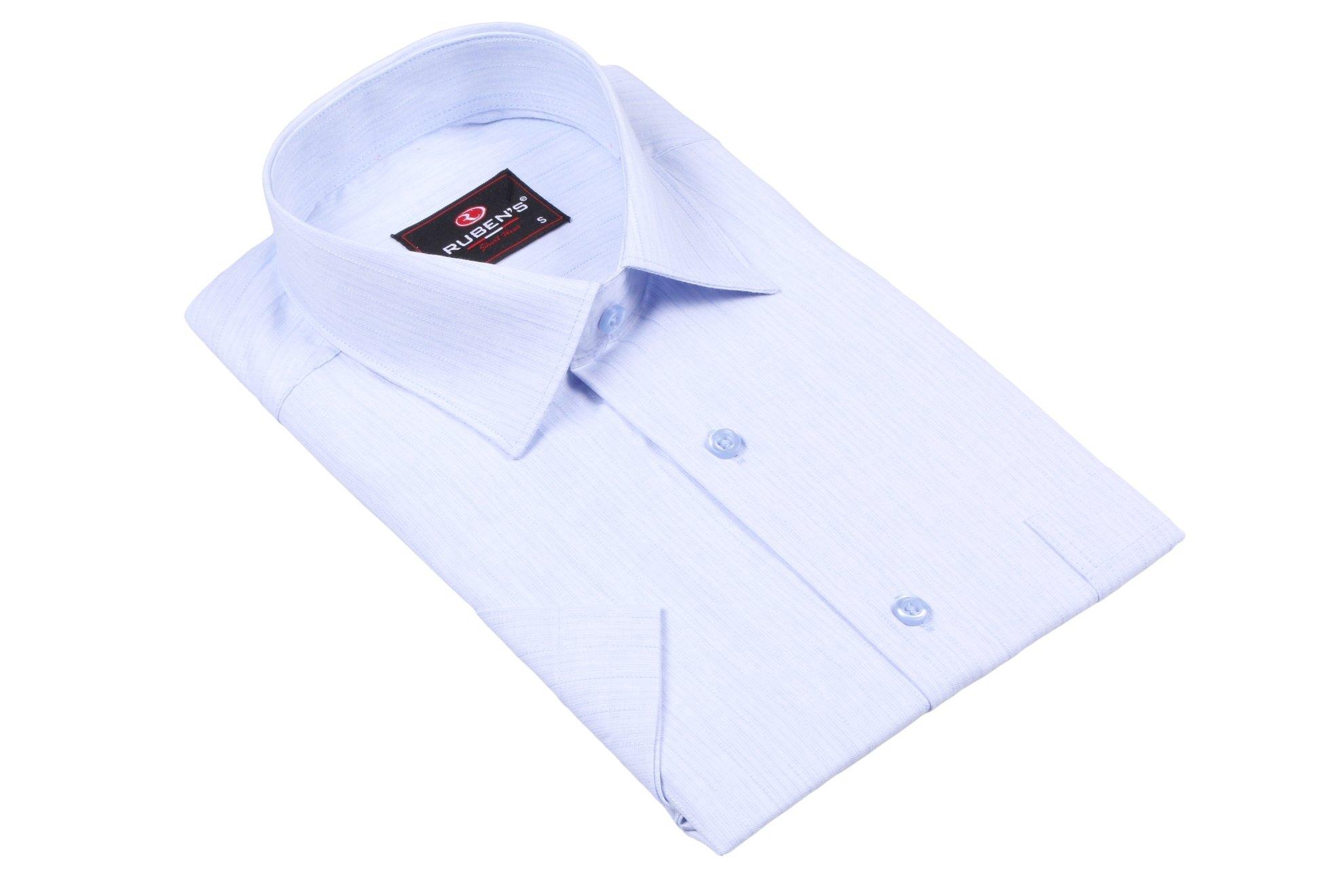 Классическая рубашка с коротким рукавом (Арт. T 2386K)