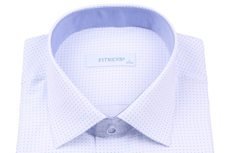 Классическая мужская рубашка в мелкий узор (Арт. Т 2582)
