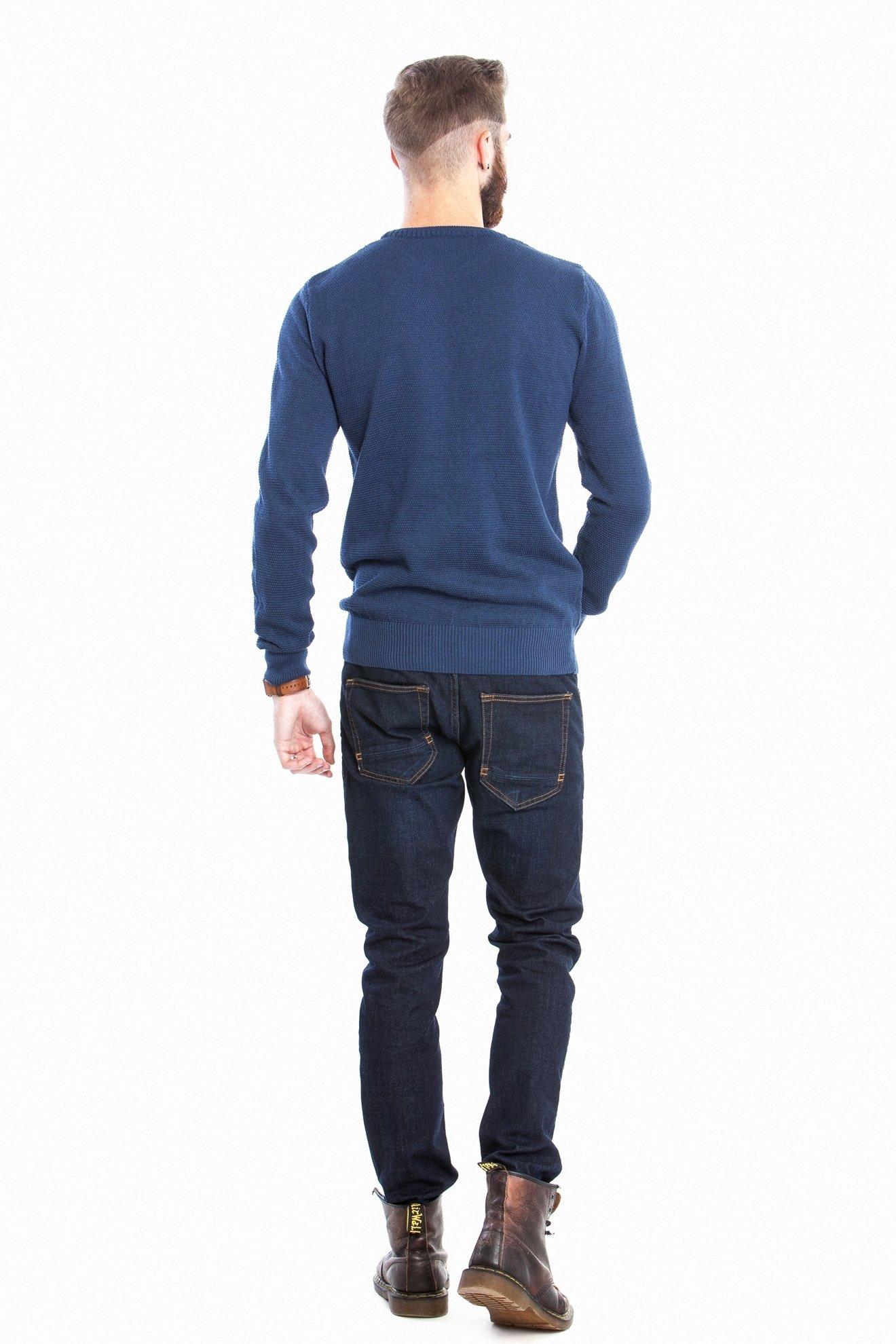 Мужской синий свитер (Арт. POS 2670)