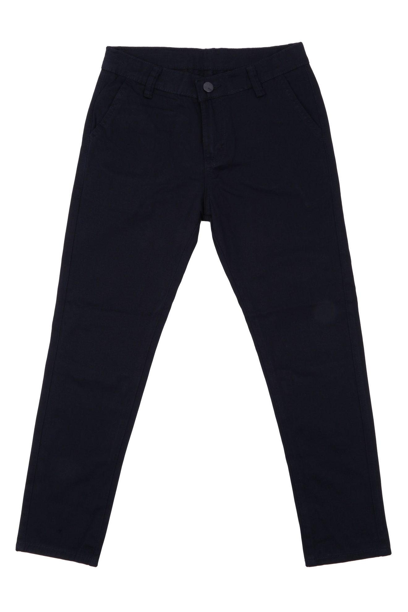 Джинсы для мальчика чёрного цвета  (Арт. D-JEANS 2839)