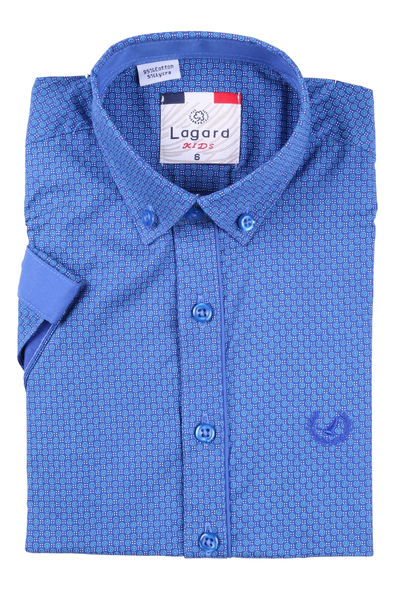 Детская рубашка с коротким рукавом (Арт. B SKY 2110K)