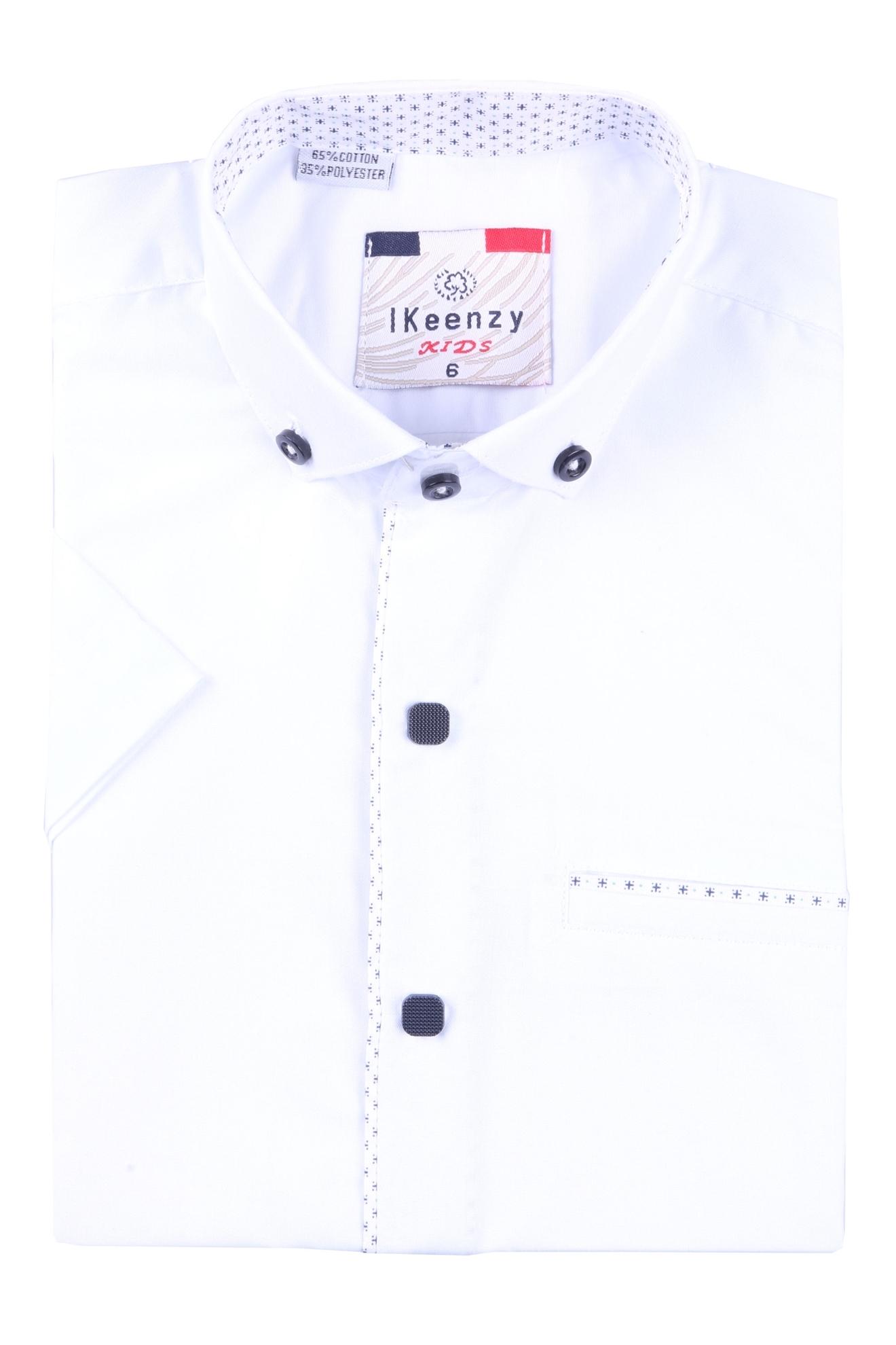 Детская рубашка с коротким рукавом (Арт. B SKY 2191K)
