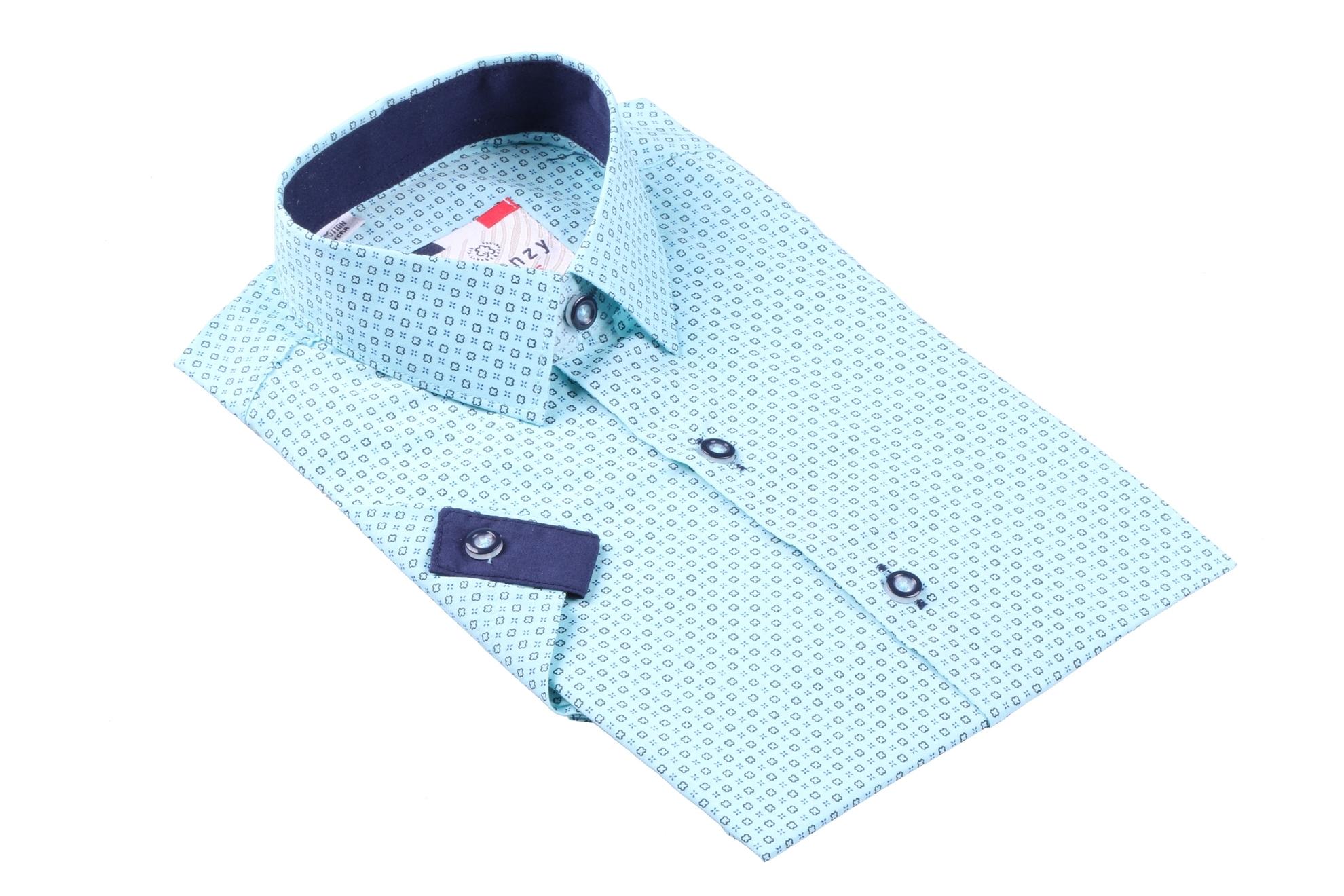 Детская рубашка с коротким рукавом (Арт. B SKY 2563K)