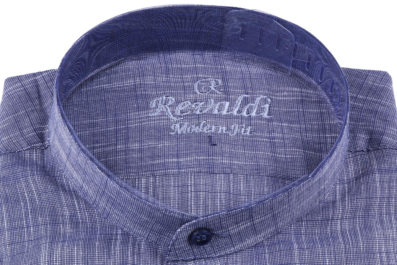 Молодежная однотонная рубашка, длинный рукав трансформер (Арт. T 3129)