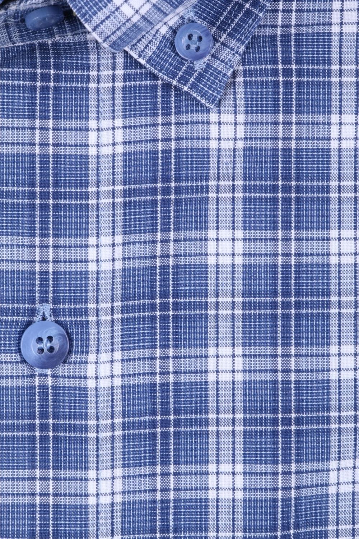 Мужская рубашка в клетку, короткий рукав  (Арт. T 3193К)