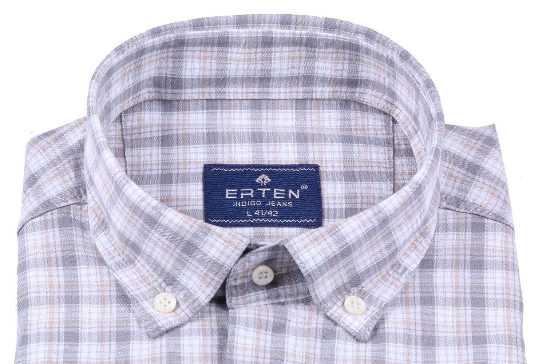 Мужская рубашка в клетку, короткий рукав  (Арт. T 3197К)