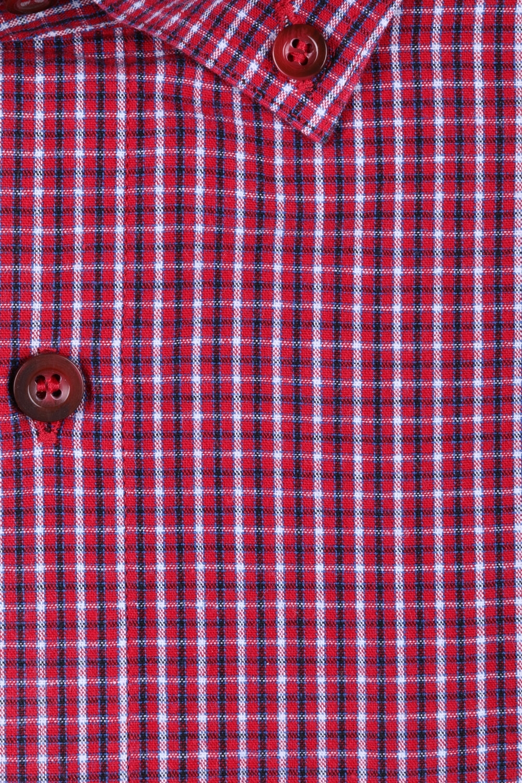 Мужская рубашка в клетку, короткий рукав  (Арт. T 3200К)