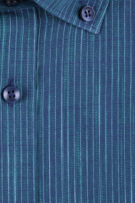 Мужская рубашка в полоску, короткий рукав  (Арт. T 3216К)