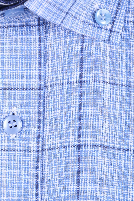 Мужская рубашка в клетку, короткий рукав  (Арт. T 3237К)