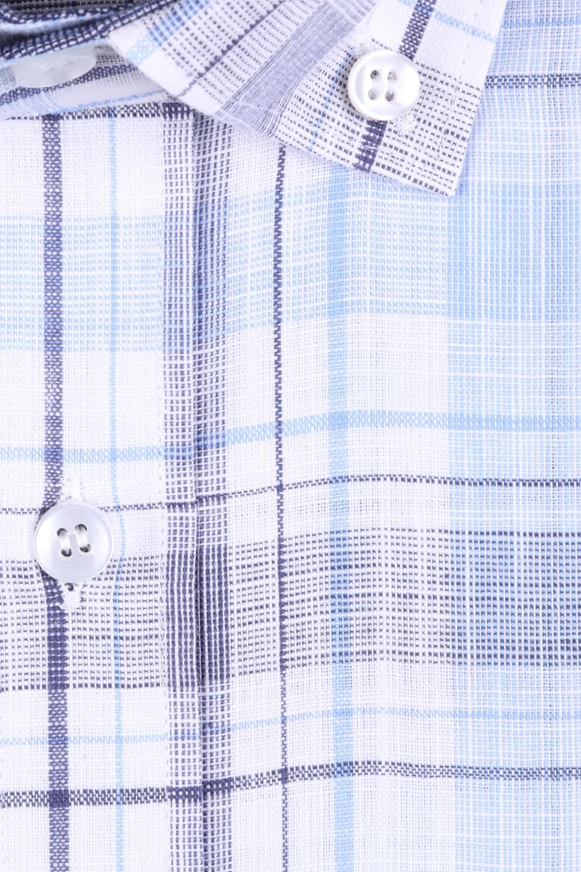 Мужская рубашка в клетку, короткий рукав  (Арт. T 3242К)