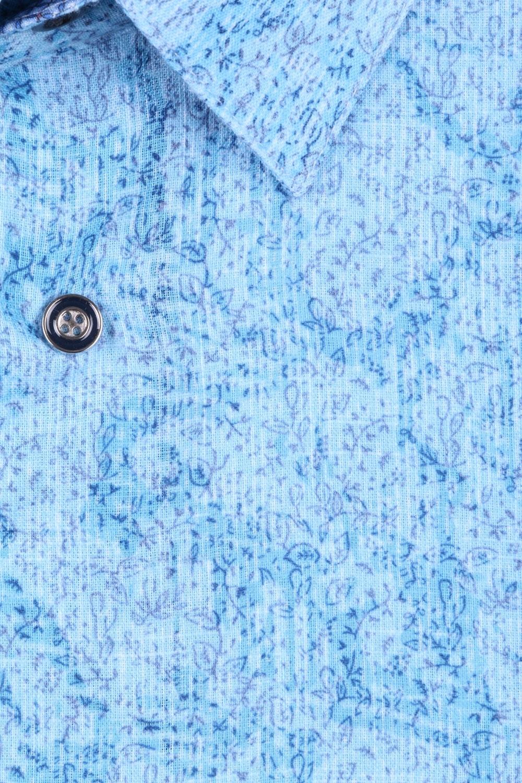 Мужская рубашка в мелкий рисунок, короткий рукав  (Арт. T 3317К)