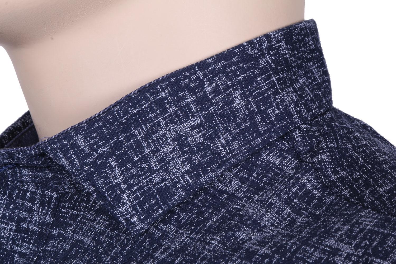 Мужская стильная рубашка в рисунок, короткий рукав  (Арт. T 3350К)