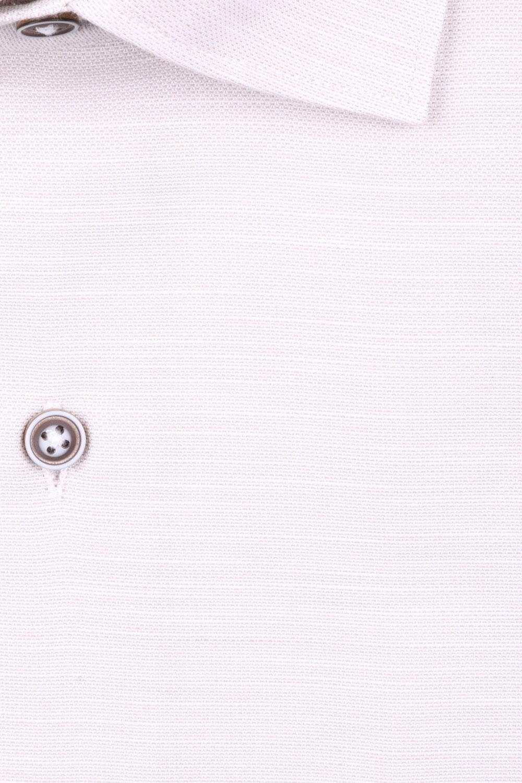 Мужская однотонная классическая рубашка, длинный рукав  (Арт. T 3447)