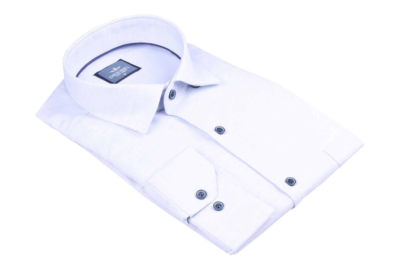 Мужская однотонная классическая рубашка, длинный рукав  (Арт. T 3448)
