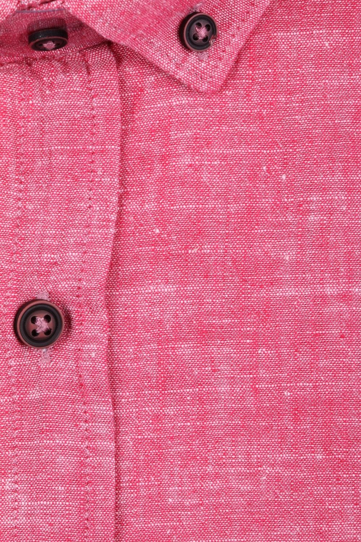 Стильная мужская однотонная рубашка, длинный рукав  (Арт. T 3471)