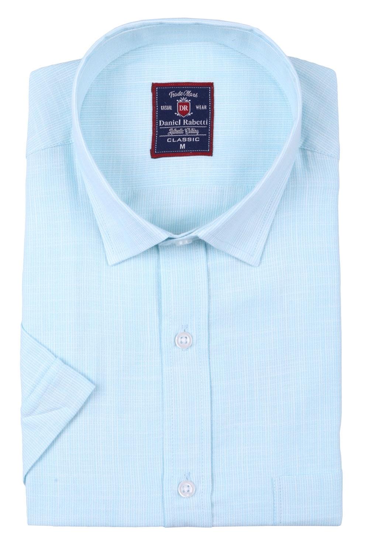 Классическая мужская рубашка, короткий рукав  (Арт. T 3505)