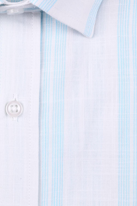 Классическая мужская рубашка в полоску, короткий рукав  (Арт. T 3508)