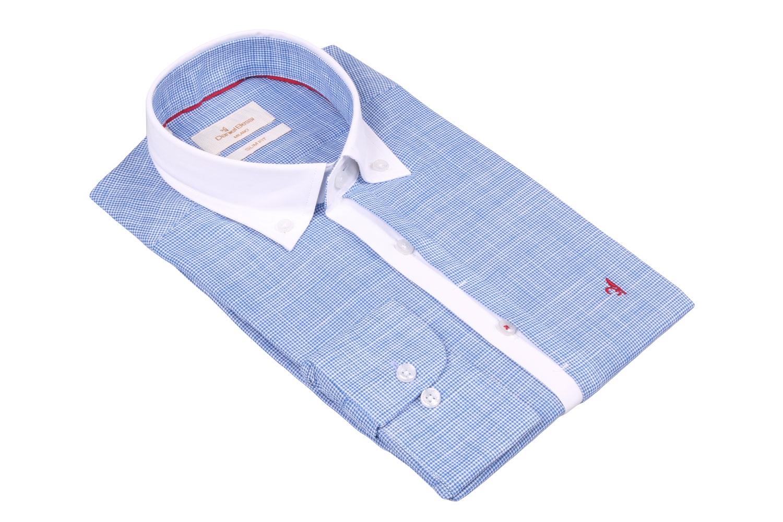 Стильная мужская рубашка, длинный рукав  (Арт. T 3527)