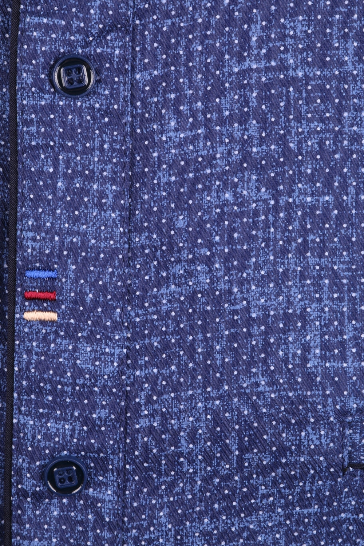 Cтильная мужская рубашка в рисунок, длинный рукав  (Арт. T 3555)
