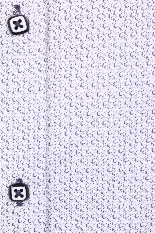 Cтильная мужская рубашка в рисунок, длинный рукав  (Арт. T 3645)