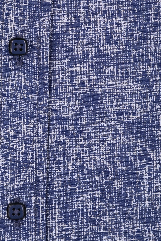 Cтильная мужская рубашка в рисунок, длинный рукав  (Арт. T 3651)