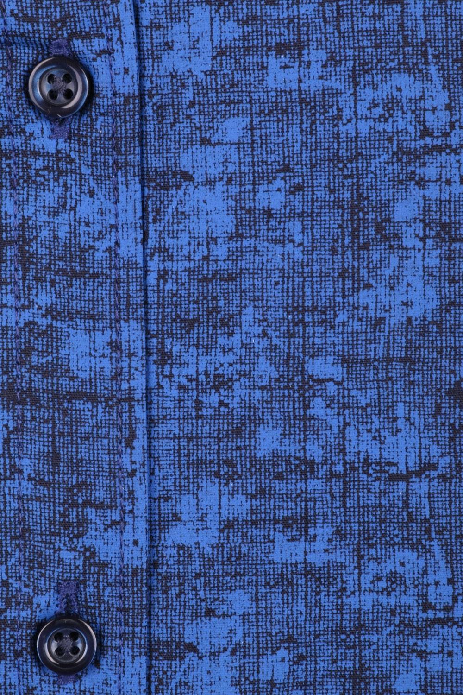 Cтильная мужская рубашка в рисунок, длинный рукав  (Арт. T 3660)