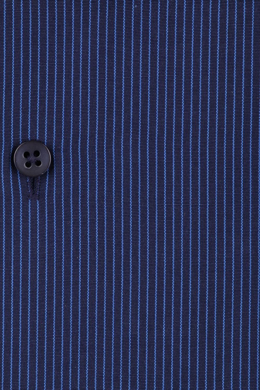 Классическая мужская рубашка в полоску, длинный рукав  (Арт. T 3698)