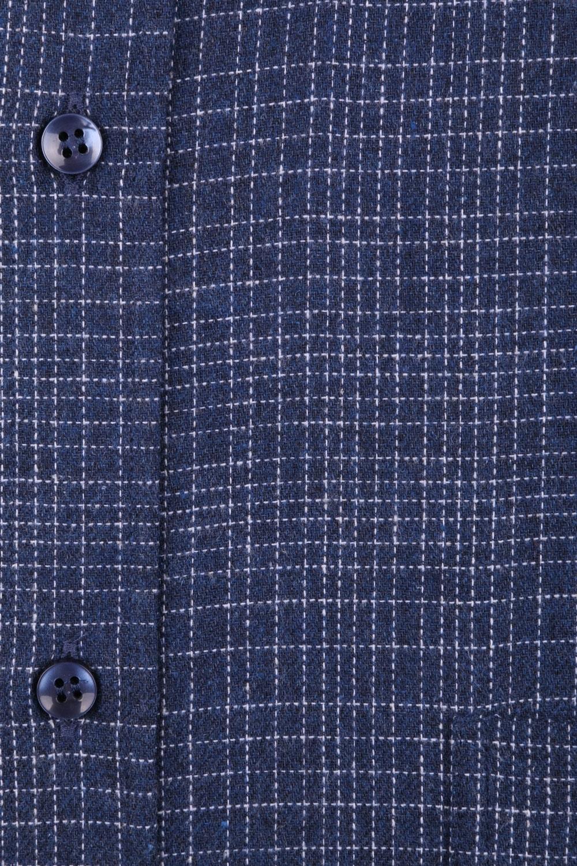 Классическая кашемировая рубашка в клетку, длинный рукав  (Арт. T 3712)