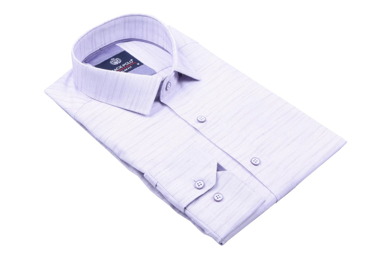 Cтильная мужская рубашка, длинный рукав  (Арт. T 4025)