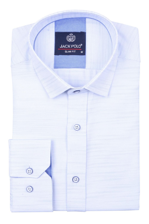 Cтильная мужская рубашка, длинный рукав  (Арт. T 4026)