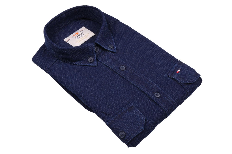 Классическая мужская рубашка, длинный рукав  (Арт. T 4055)