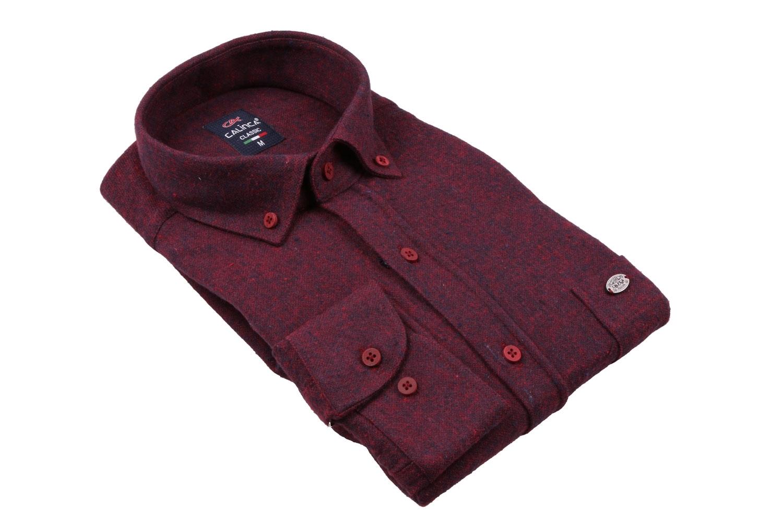 Классическая кашемировая мужская рубашка, длинный рукав (Арт. T 3991)
