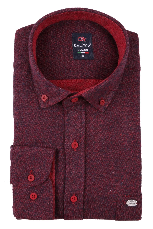 Классическая кашемировая мужская рубашка, длинный рукав (Арт. T 3994)