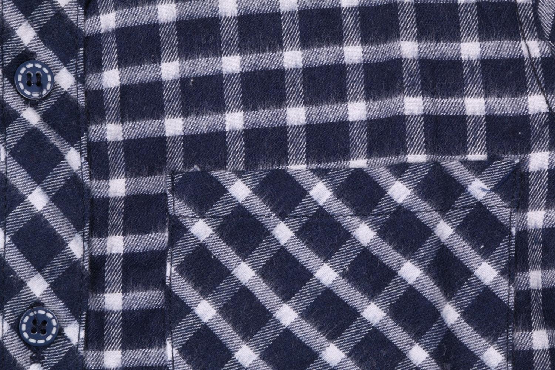 Детская кашемировая рубашка в клетку, длинный рукав (Арт. TB 4169)