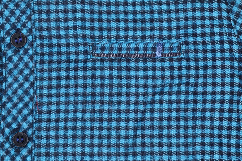 Детская кашемировая рубашка в клетку, длинный рукав (Арт. TB 4173)