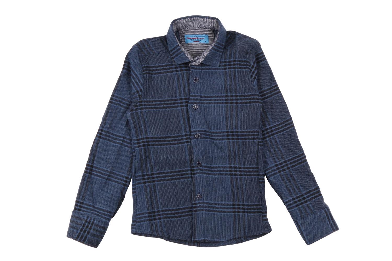 Детская рубашка в клетку, длинный рукав (Арт. TB 4202)