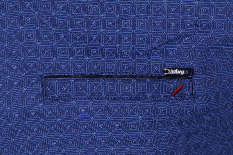 Стильная мужская рубашка в мелкий узор, длинный рукав (Арт. T 4300)
