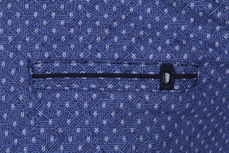 Стильная мужская рубашка в мелкий узор, длинный рукав (Арт. T 4302)