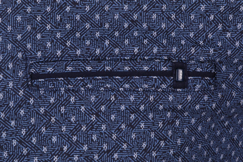 Стильная мужская рубашка в мелкий узор, длинный рукав (Арт. T 4304)