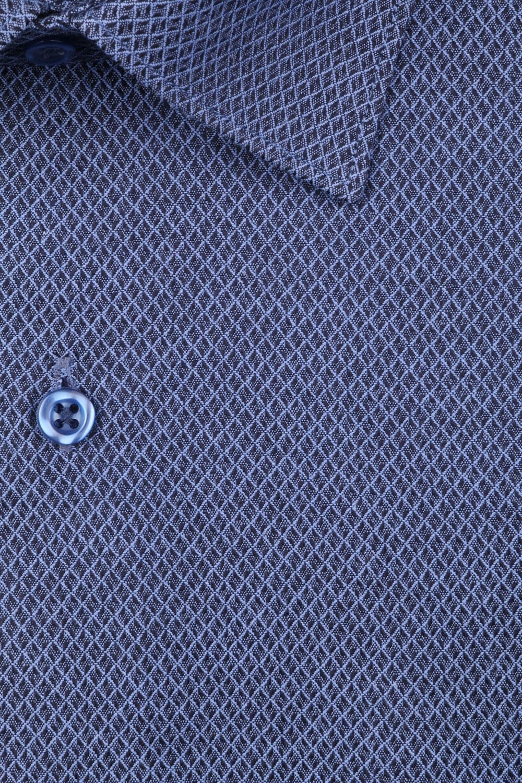 Рубашка мужская классика в мелкий узор, длинный рукав (Арт. T 4403)