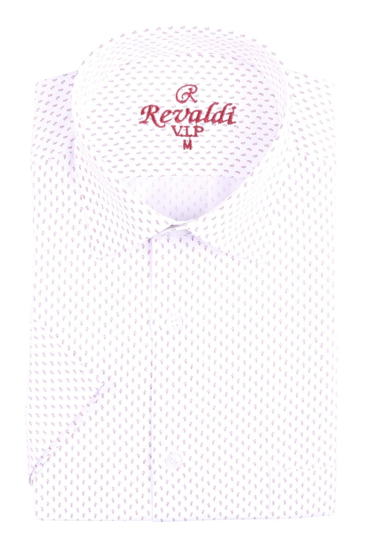 Рубашка мужская классика в рисунок, короткий рукав (Арт. T 4492К)