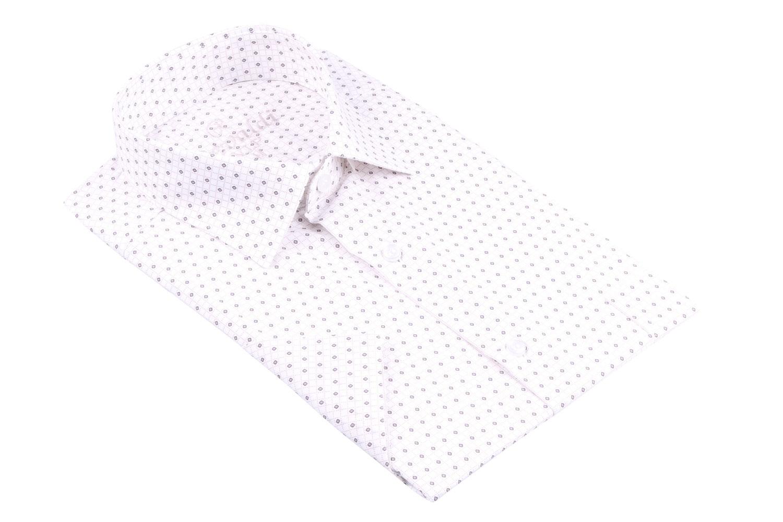 Рубашка мужская классика в рисунок, короткий рукав (Арт. T 4494К)