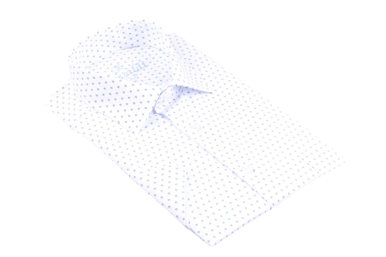 Рубашка мужская классика в рисунок, короткий рукав (Арт. T 4495К)