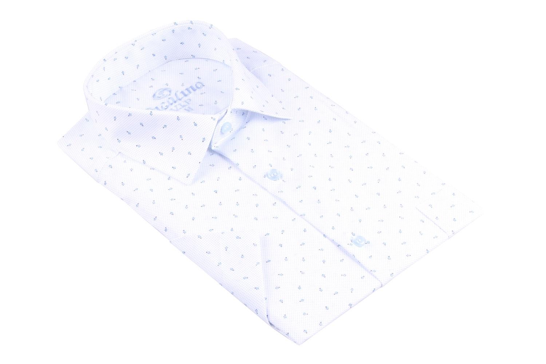 Рубашка мужская классика в рисунок, короткий рукав (Арт. T 4501К)