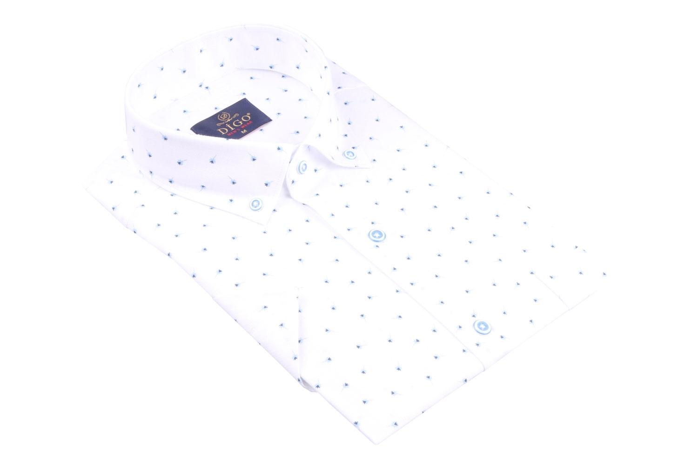 Рубашка мужская классика в рисунок, короткий рукав (Арт. T 4528К)