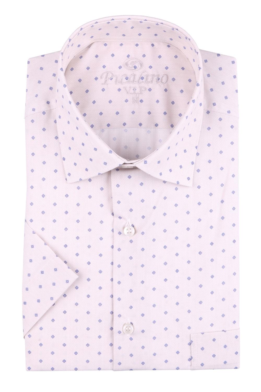 Рубашка мужская классика в рисунок, короткий рукав (Арт. T 4547К)