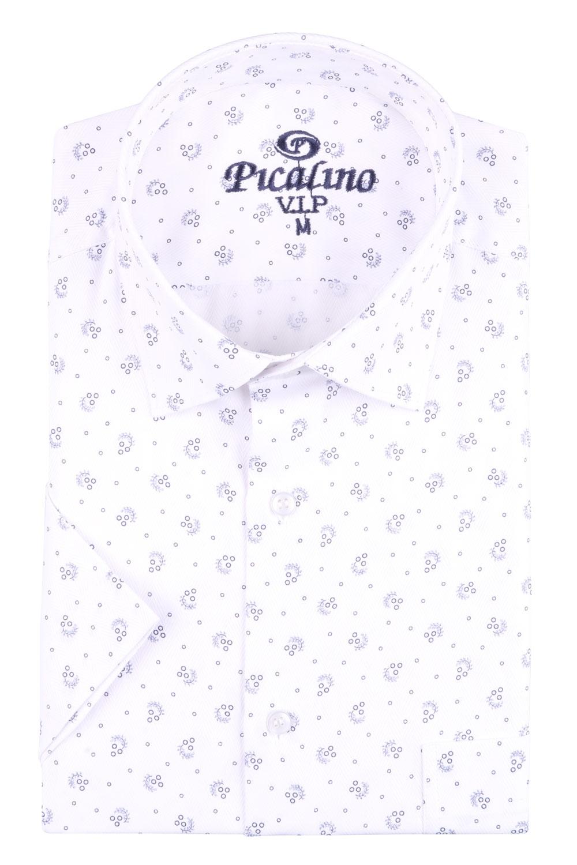 Рубашка мужская классика в рисунок, короткий рукав (Арт. T 4549К)