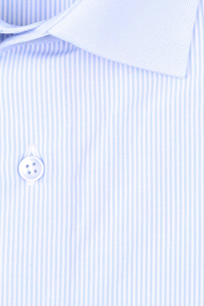 Рубашка мужская классика в полоску, длинный рукав (Арт. T 4660)